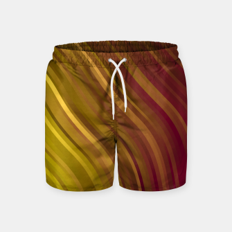 Thumbnail image of stripes wave pattern 1 eev Swim Shorts, Live Heroes