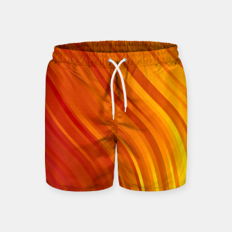 Thumbnail image of stripes wave pattern 1 eevi Swim Shorts, Live Heroes