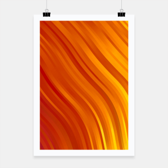 stripes wave pattern 1 eevi Poster miniature