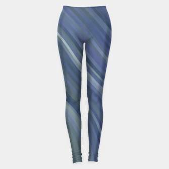 stripes wave pattern 1 fnp Leggings miniature