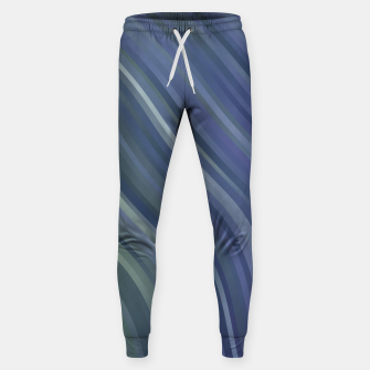 stripes wave pattern 1 fnp Sweatpants miniature