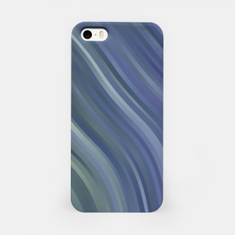 stripes wave pattern 1 fnp iPhone Case miniature