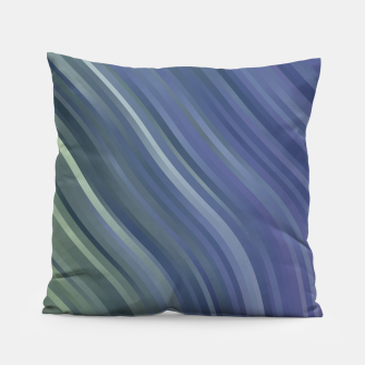 stripes wave pattern 1 fnp Pillow miniature