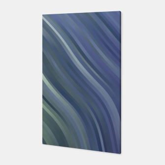 stripes wave pattern 1 fnp Canvas miniature