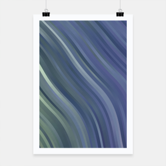 stripes wave pattern 1 fnp Poster miniature