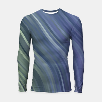 stripes wave pattern 1 fnp Longsleeve rashguard  miniature