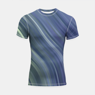 stripes wave pattern 1 fnp Shortsleeve rashguard miniature