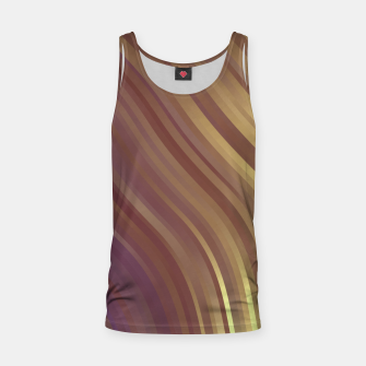 Thumbnail image of stripes wave pattern 1 fnvi Tank Top, Live Heroes
