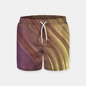 Thumbnail image of stripes wave pattern 1 fnvi Swim Shorts, Live Heroes