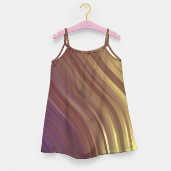 Thumbnail image of stripes wave pattern 1 fnvi Girl's dress, Live Heroes