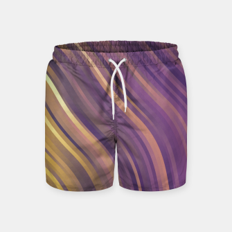 Thumbnail image of stripes wave pattern 1 lsp Swim Shorts, Live Heroes