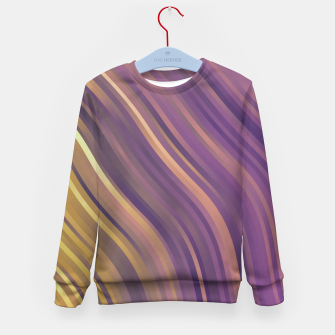 Miniature de image de stripes wave pattern 1 lsp Kid's sweater, Live Heroes