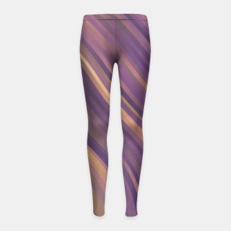 Thumbnail image of stripes wave pattern 1 lsp Girl's leggings, Live Heroes
