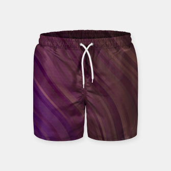 Thumbnail image of stripes wave pattern 1 lspi Swim Shorts, Live Heroes