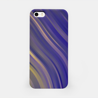 stripes wave pattern 1 lsv iPhone Case miniature