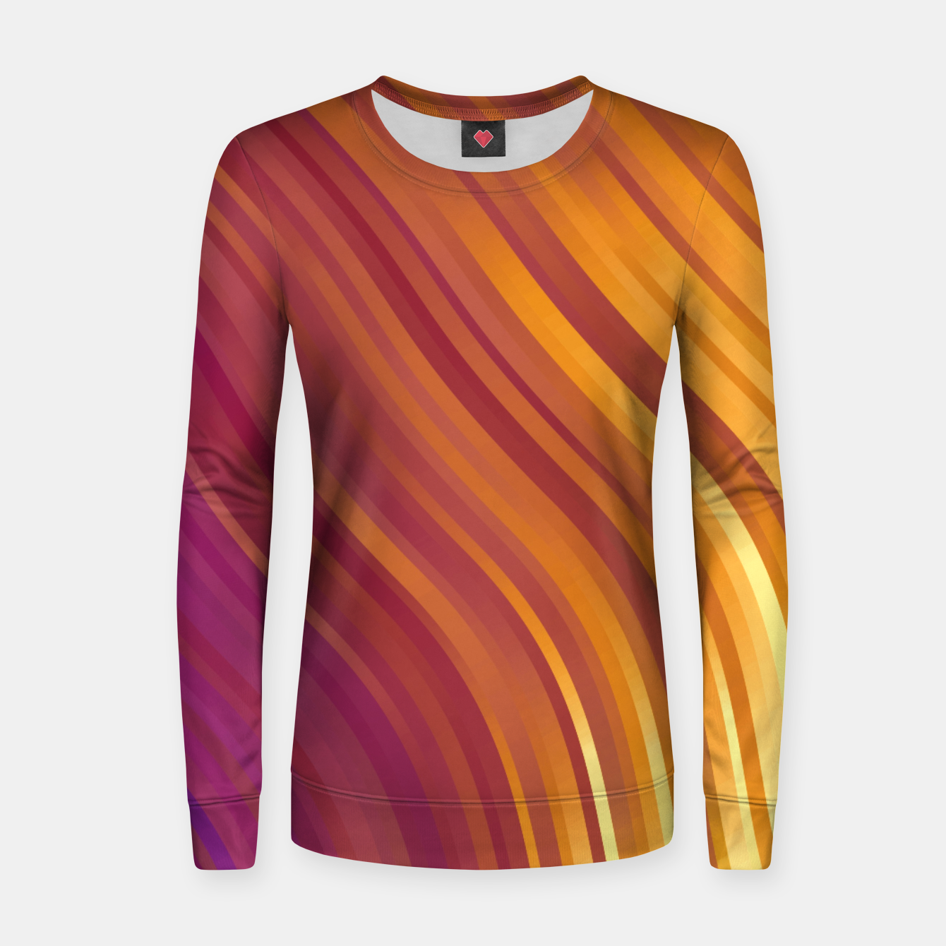 Image de stripes wave pattern 1 lsvi Women sweater - Live Heroes