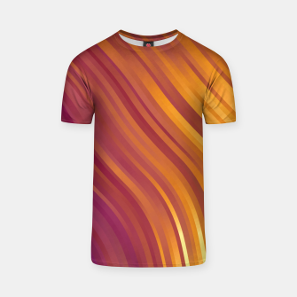 stripes wave pattern 1 lsvi T-shirt miniature