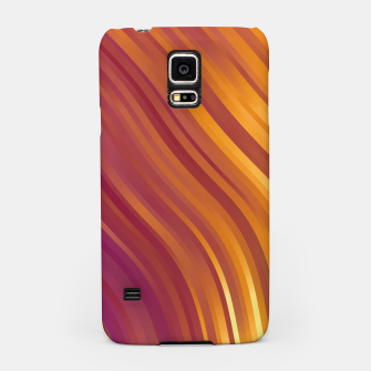 stripes wave pattern 1 lsvi Samsung Case miniature