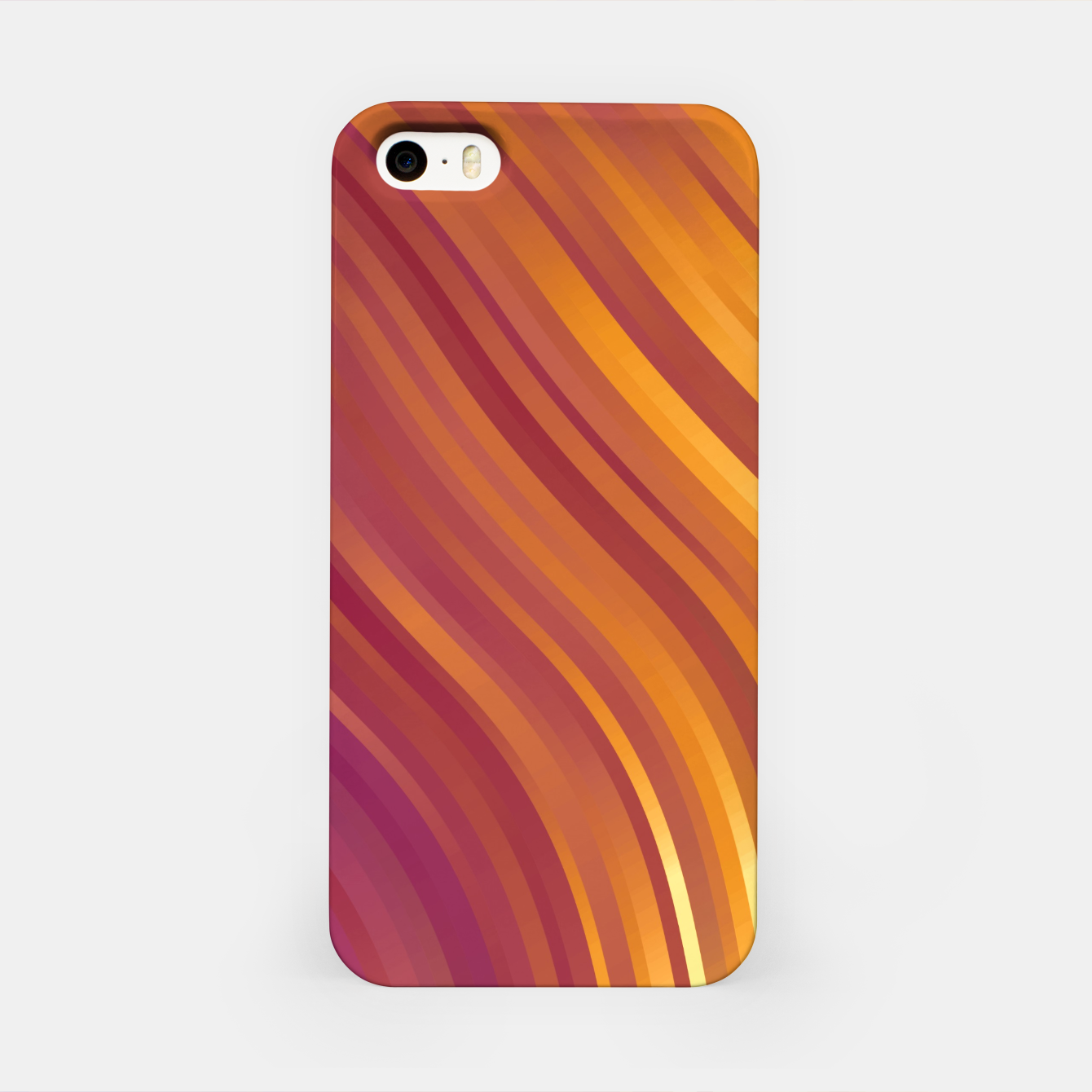 Image de stripes wave pattern 1 lsvi iPhone Case - Live Heroes