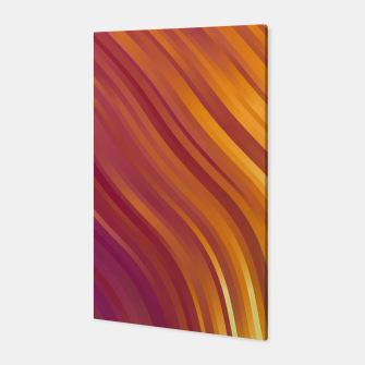stripes wave pattern 1 lsvi Canvas miniature