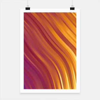 stripes wave pattern 1 lsvi Poster miniature