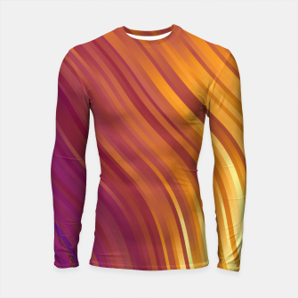 stripes wave pattern 1 lsvi Longsleeve rashguard  miniature