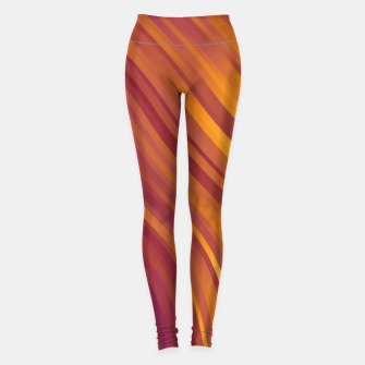 stripes wave pattern 1 lsvi Leggings miniature