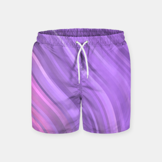 Thumbnail image of stripes wave pattern 1 mp Swim Shorts, Live Heroes