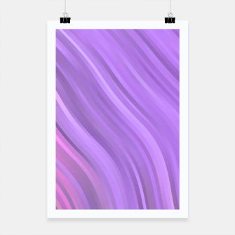 Miniature de image de stripes wave pattern 1 mp Poster, Live Heroes