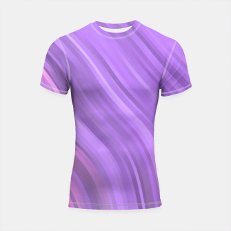 Miniature de image de stripes wave pattern 1 mp Shortsleeve rashguard, Live Heroes