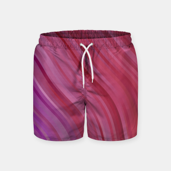 Thumbnail image of stripes wave pattern 1 mpi Swim Shorts, Live Heroes