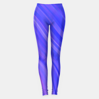 stripes wave pattern 1 mv Leggings miniature