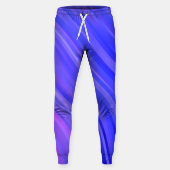 stripes wave pattern 1 mv Sweatpants miniature