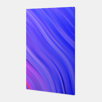 stripes wave pattern 1 mv Canvas miniature