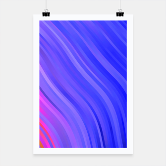 Miniature de image de stripes wave pattern 1 mv Poster, Live Heroes