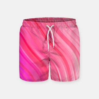 Thumbnail image of stripes wave pattern 1 mvi Swim Shorts, Live Heroes