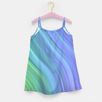 Thumbnail image of stripes wave pattern 1 stdp Girl's dress, Live Heroes