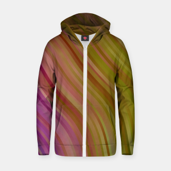 Thumbnail image of stripes wave pattern 1 stdpi Zip up hoodie, Live Heroes