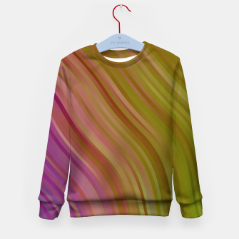 Miniature de image de stripes wave pattern 1 stdpi Kid's sweater, Live Heroes