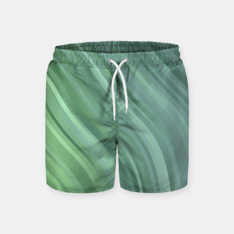 Thumbnail image of stripes wave pattern 1 tgp Swim Shorts, Live Heroes