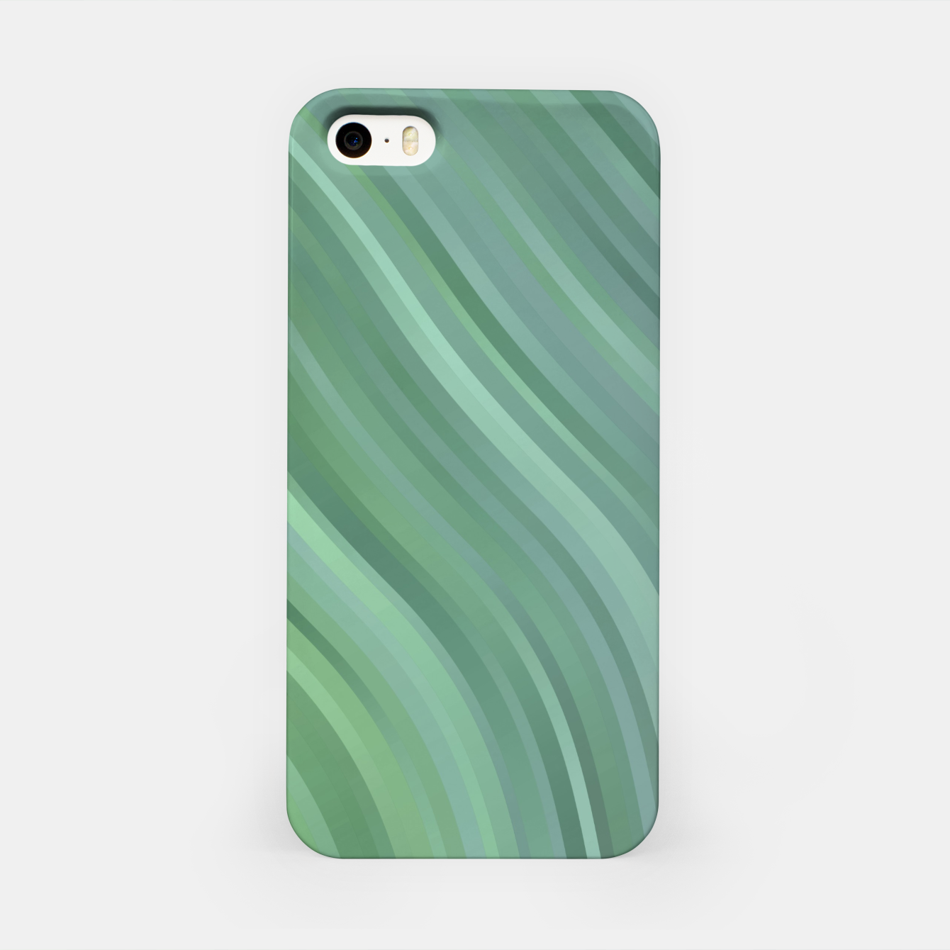 Image de stripes wave pattern 1 tgp iPhone Case - Live Heroes