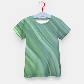 stripes wave pattern 1 tgp Kid's t-shirt miniature