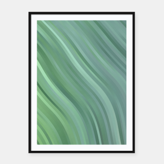 stripes wave pattern 1 tgp Framed poster miniature