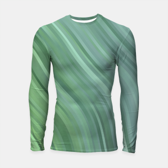stripes wave pattern 1 tgp Longsleeve rashguard  miniature