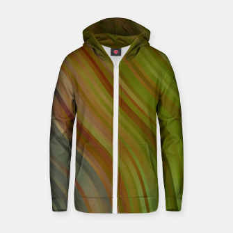 stripes wave pattern 1 tgpi Zip up hoodie miniature