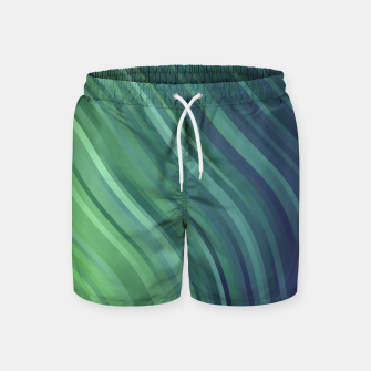 Thumbnail image of stripes wave pattern 1 tgv Swim Shorts, Live Heroes