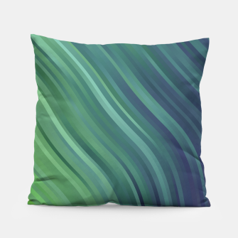 Thumbnail image of stripes wave pattern 1 tgv Pillow, Live Heroes