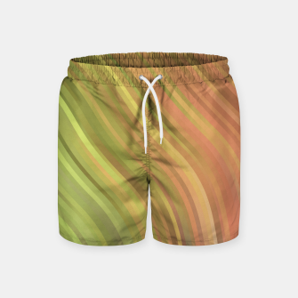Thumbnail image of stripes wave pattern 1 w81p Swim Shorts, Live Heroes