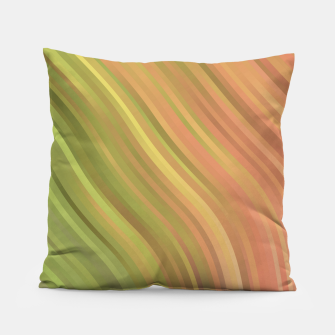 Thumbnail image of stripes wave pattern 1 w81p Pillow, Live Heroes