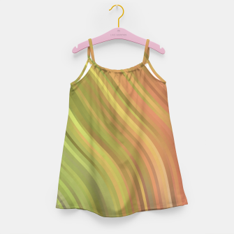 Thumbnail image of stripes wave pattern 1 w81p Girl's dress, Live Heroes
